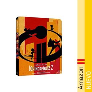 Pixar Increibles 2 - BluRay Steelbook