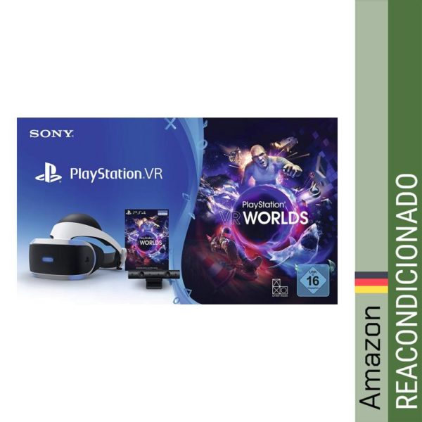 Sony Playstation VR incl. VR Worlds y VR cámara