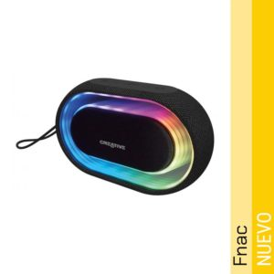 Altavoz Bluetooth Creative Halo Negro