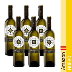 Azumbre Vino Blanco - 6 Botellas de 750 ml