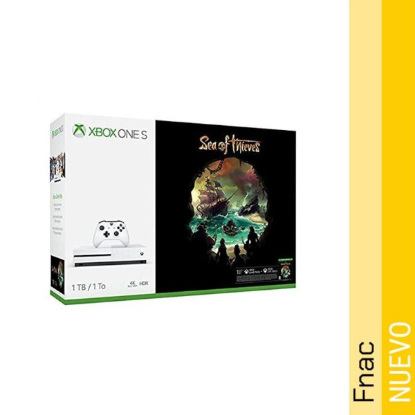 Consola Xbox One S 1TB  con Sea of Thieves