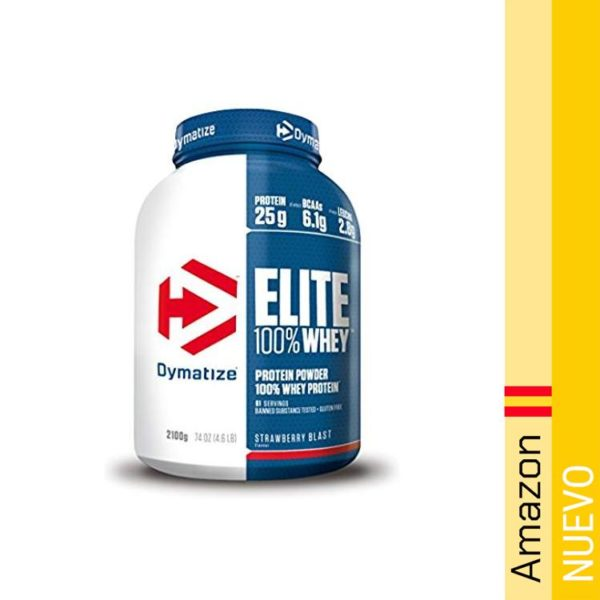 Dymatize Elite Whey Strawberry Blast - 2100 gr