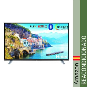 "Haier U49H7000 49"" 4K Ultra HD HDR Smart TV WiFi - Televisor"