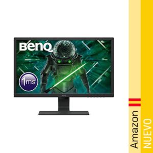 BenQ GL2480 - Monitor Gaming de 24 LED 1080p 1 ms 75 Hz con Eye-Care