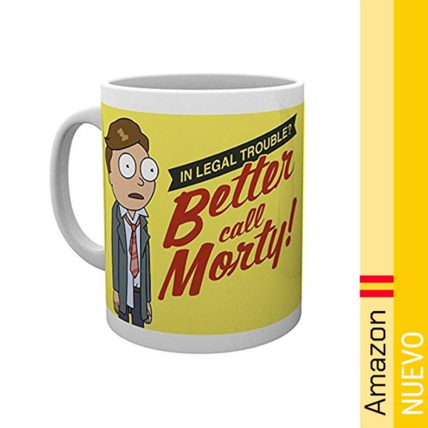 GB eye Taza Rick and Morty Better Call Morty