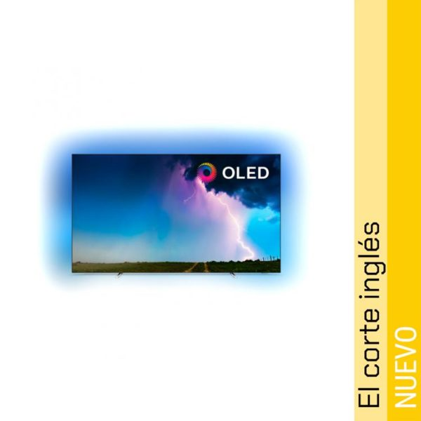 TV OLED 164 cm (65) Philips 65OLED754/12 4K HDR Smart TV con Ambilight y Saphi