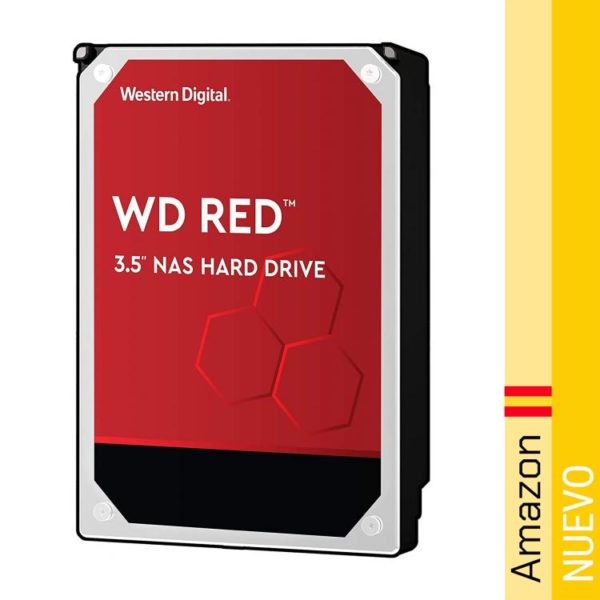Disco Duro Interno WD Red NAS de 6 TB