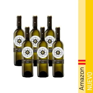 Azumbre Rueda - Vino Blanco, 6 Botellas x 750 ml