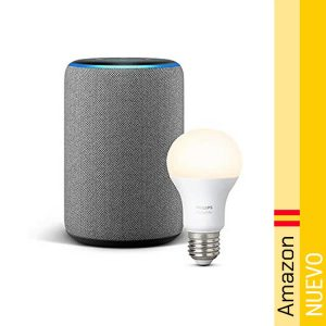 Echo Plus (2.a generacion) + Philips Hue White Bombilla LED E27
