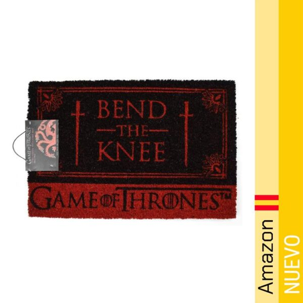 Game Of Thrones Bend The Knee Door Mat Felpudo