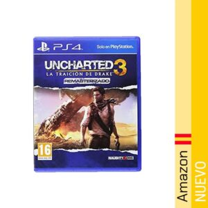 Uncharted 3: La Traicion De Drake Remasterizado
