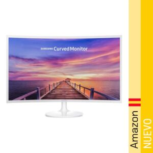"Samsung C32F391 - Monitor Curvo de 32"" (Full HD, 4 ms, 60 Hz, LED)"
