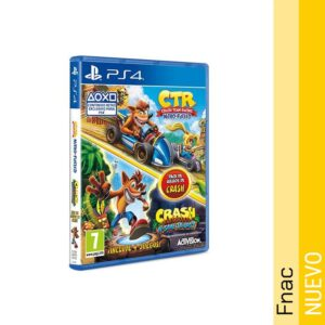 Pack Crash Team Racing Nitro Fueled y Crash Bandicoot Trilogy PS4